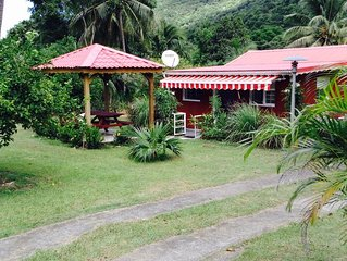 Ti Coco - Domaine ' La Vallée ' Location de bungalows/villa