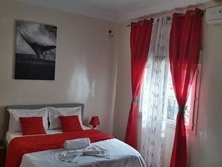 studio meuble au centre ville de dakar