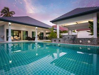 Ban Fasai - villa 2 chambres quartier calme avec piscine privée sans vis à vis