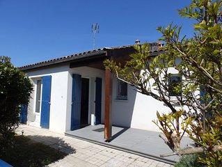 Maison en parfait etat avec jardin au calme, proche de la plage de vertbois