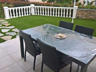 Magnifique appartement de 100 m² avec jardin privé de 200 m²