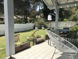 Hossegor Villa LA PERGOLA, centre à 5 mn, océan à 10 min, golf à 5 min