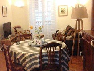 Appartement T3 dans le coeur historique de St Jean de Luz à 100 m de la plage