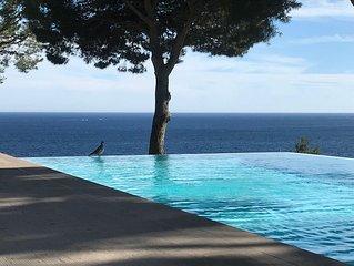 Villa Contemporaine Vue mer Panoramique sur la Baie de la Ciotat