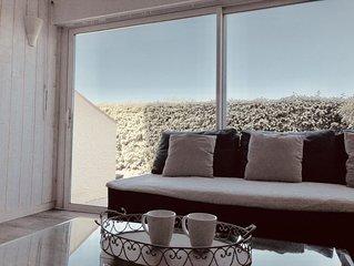 Charmant T3 duplex, 6 pers, plage 200m, terrasse ensoleillee, parking