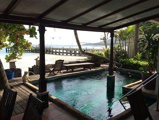 Magnifique maison les pieds dans l'eau Luxury villa directly on the beach