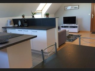Appartement  tout confort, 50m2, proche port et commerces