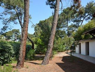 Maison Cap Ferret Belisaire de 60m2 - 2 Chambres -  sur 1400 m2 de jardin