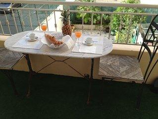 Studio terrasse 2 mn de la Mer !!!