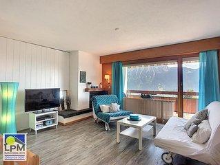 Dents du Midi A08 Appartement rénové de 2,5 pièces pour 2 à 4 personnes, env. 50
