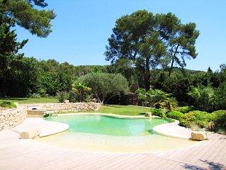 Sublime villa - Aix en Provence - au calme - avec piscine privée naturelle