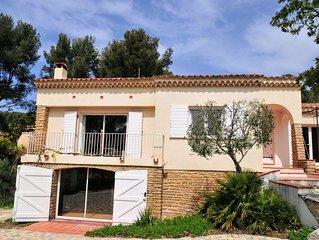 Villa entre St. Cyr/Mer et Bandol, tres calme, proche Mer