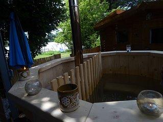 Chalet éco-insolite avec spa à Libourne