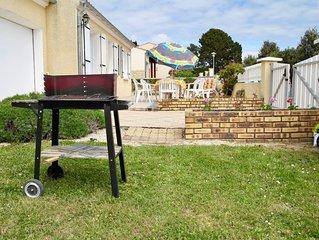 Maison idéale pour des vacances en famille revigorantes à Brem-sur-Mer