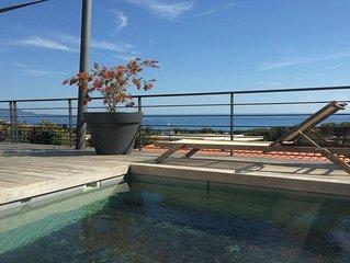 Villa avec belle vue mer