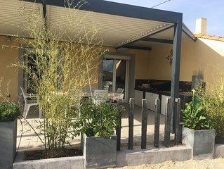 Grande villa 6 chambres avec piscine Privée
