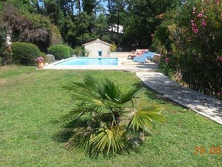 'Le Lavandin' : Mas Montauroux (Provence-Cote d'Azur), piscine privee. Wifi