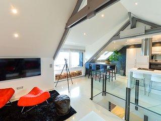 Luxury Loft – Vue mer exceptionnelle 180°