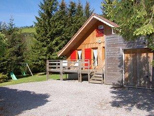 Agreable Chalet** 8 personnes, jardin, sauna, 2 terrasses, Alt. 800 m, WIFI