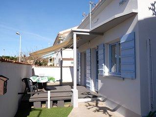 Jolie maison indiduelle, 2 chambres, garage, classee  2 etoiles,  a 50m de la me