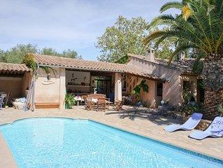 Magnifique villa au calme--MAGNIFIQUE VILLA 6 PERSONNES AVEC PISCINE