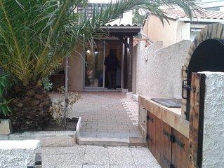 Appartement T2 cabine rdc Bas Saint-Pierre 4-6 pers Grande terrasse 250m plage