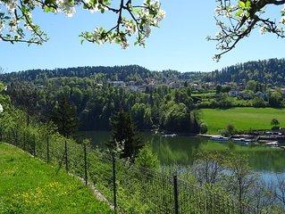 Panorama Exceptionnel Sur Les Bassins Du Doubs et la Suisse