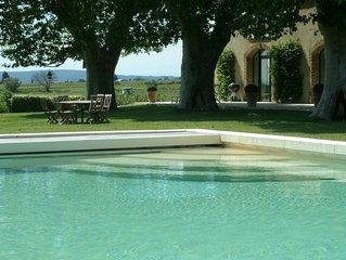 Luxueux Mas sur la route des vins en Provence (2 et 4 pers, enfants non admis)