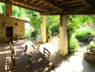 Villa Toscane, petite piscine privée et jardin d'oliviers, beaucoup de charme
