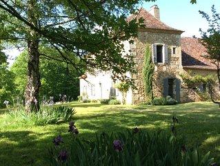 Belle demeure de famille en plein coeur de la Dordogne, piscine sur 2,5 ha
