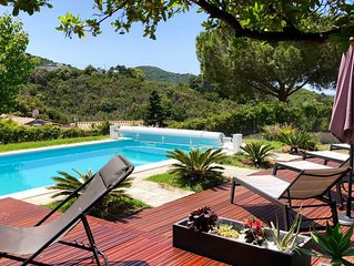 Villa avec piscine privée et grand jardin entre Porticcio et Isolella