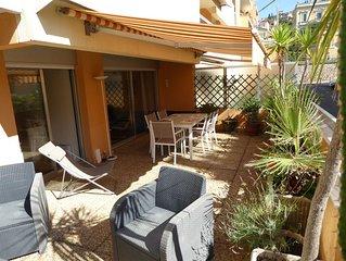 Bel Appartement 52m²- proximité mer et rues pietonnes,  calme - terrasse 35m²