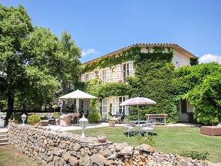Villa L'Oliveraie des Hauts de Tourrettes-Fayence, Var en Provence Côte d'Azur