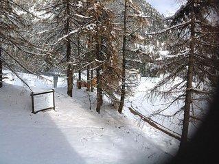 location Montgenevre/ hiver/été /neige/pied des pistes /ski/Italie/sport/golf /