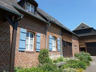 B&B La Vannerie en Thierache, Le Fendoir, 1 chambre 1-3 pers., Le Fendoir