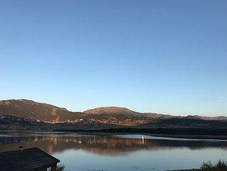 Chalet avec vue imprenable sur le lac de Matemale