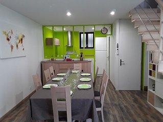 Une charmante maison pour un séjour au vert