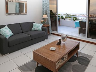 Appartement Blue One - Papeete  - vue mer - 1 chambre - clim & WiFi - 4 per