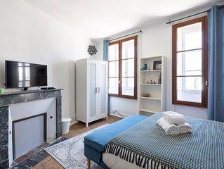 Saint Germain - Deux Chambres Appartement, Couchages 4