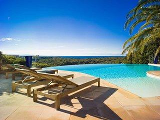 Mini-villa F2, vue mer, citadelle de bonifacio et  Sardaigne (7)