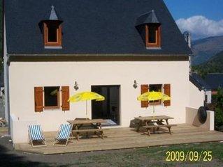 Maison à TRAMEZAIGUES dans petit village montagne 5' de Saint Lary pour 10