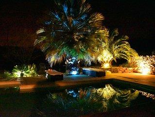 Maison Jas des oliviers avec piscine chauffee