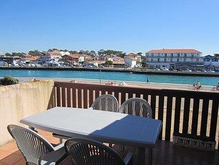 Appartement pour 3/4 personnes avec vue sur le port de plaisance