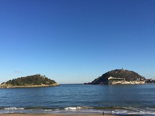Maison Style Ibiza a 20 metres de la plage,vue mer et parking gratuit