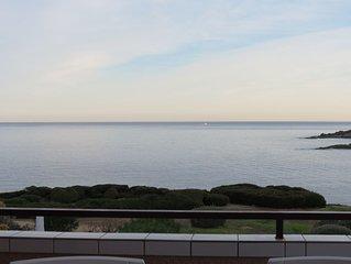 Appart Marine sant'ambroggio vue mer et montagne