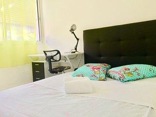 Appartement de charme jusqu'à 5 personnes, très pratique pour visiter