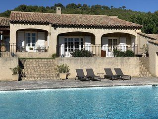 Villa 3 chambres piscine tennis a louer