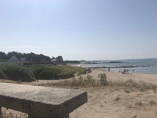 Villa La Turballe (location semaine), plage à 80m