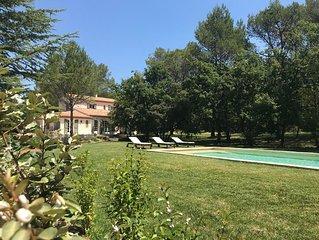 Maison de charme en campagne Aixois