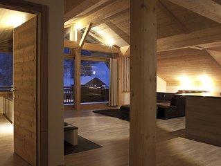 Penthouse 170 m2 au ceour d'une station de ski -